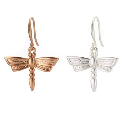 Dragonfly Drop Earring - Final Sale