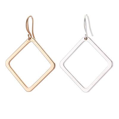 Square Dangle Earring - Final Sale