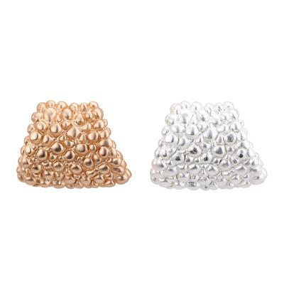 Granulated Wedge Stud Earring - Final Sale