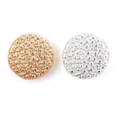 Granulated Round Stud Earring - Final Sale