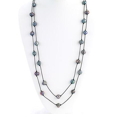 Long Strand With Pearls Necklace - Final Sale