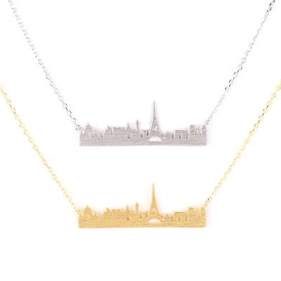 Paris Charm Necklace - Final Sale