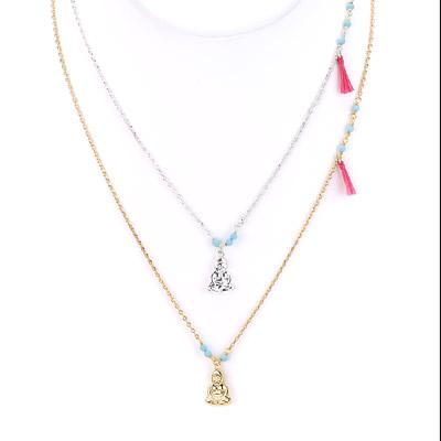 Buddha Charm Necklace - Final Sale