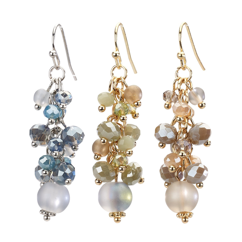Cluster Bead Drop Earring - Final Sale