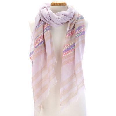 Striped beach themed scarf