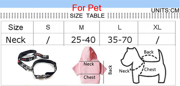 Soft Leather OFF White Collar & Leash SET (HOT ITEM)