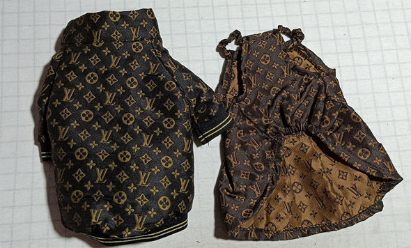 LV 18 Hole Exclusive Luxury Wealth Skirt