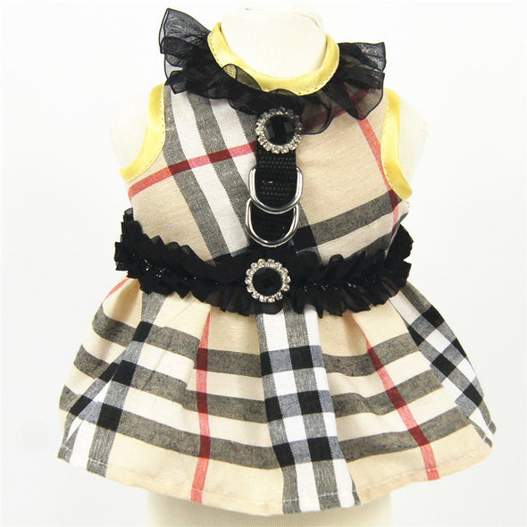 Burberry Skirt & Harness Tea Party Princess set