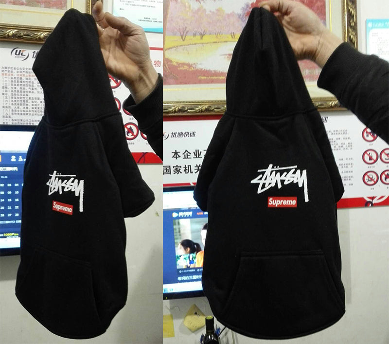 Stussy Pupreme 1991 Skater Dog Hoodie (HOT ITEM!)