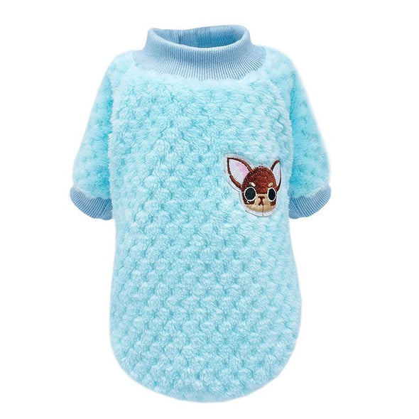 Cute Puppy Cozy Fleece Sweater