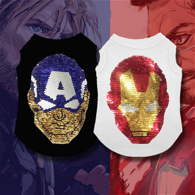 New Hot Captain America & Iron Man Vest Cool