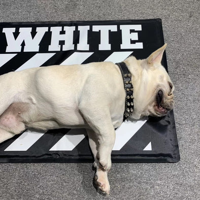 Off White Doggy Playpen Mat