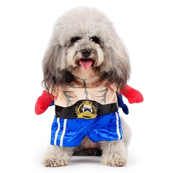Costumes Boxer Pet Clothing Halloween