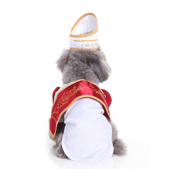 The Pope Doggy Halloween costume