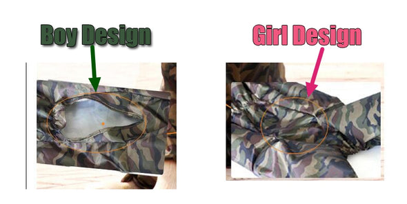 Pink/Green HQ Camouflage Doggy Raincoat (BIG DOGS)