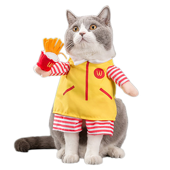 Ronald McDonald Halloween Costume for Dogs & Cats