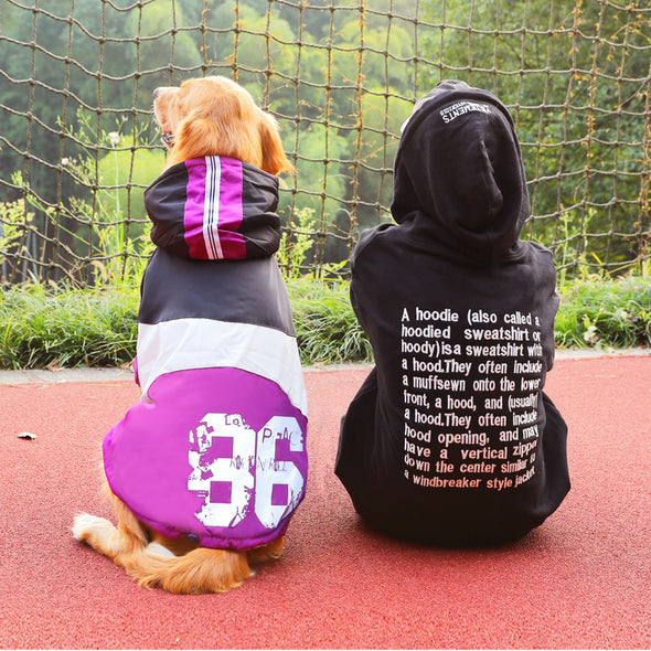 Thick Cotton Swaggy Hoodie for Big Dogs