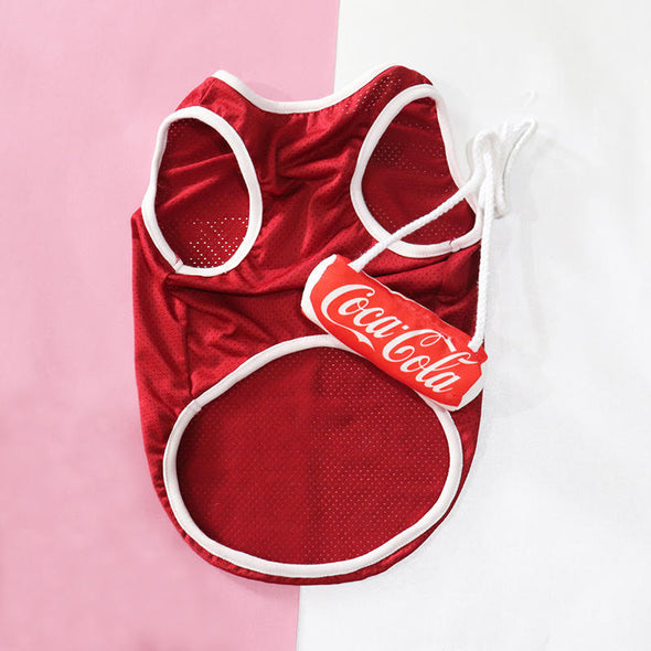 Coca Cola Mesh Summer Party Shirt