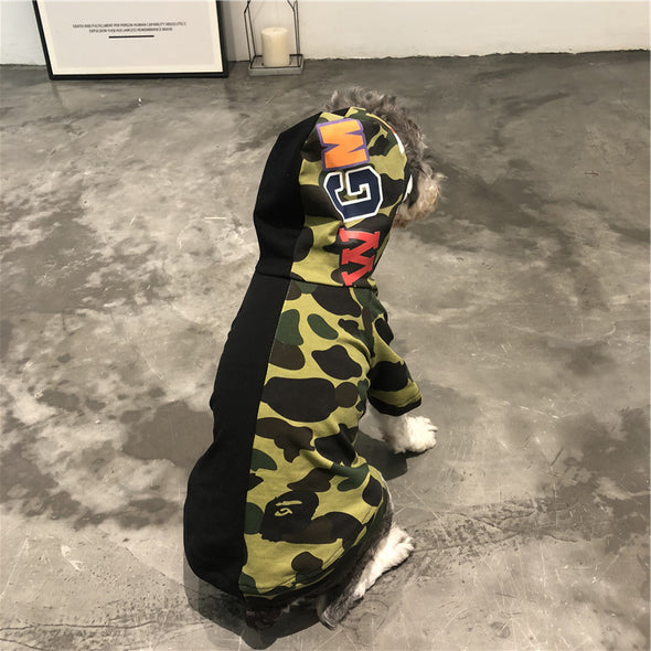 Bape Camo Black Hoodies