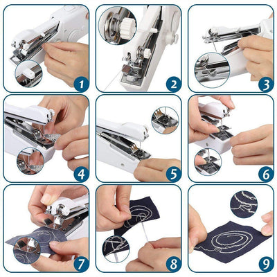 Sunsetime™ Mini Portable Handheld Sewing Machine