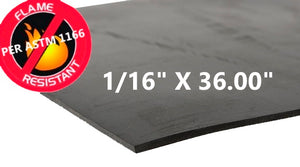 FLAME RESISTANT RUBBER sheet