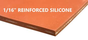 reinforced silicone sheet