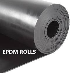 "3/8"" EPDM THICK RUBBER ROLL - The Rubber Sheet Roll Store"