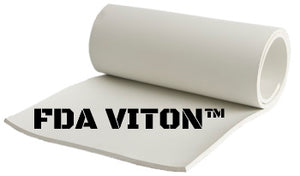 "1/4"" FDA VITON® RUBBER"