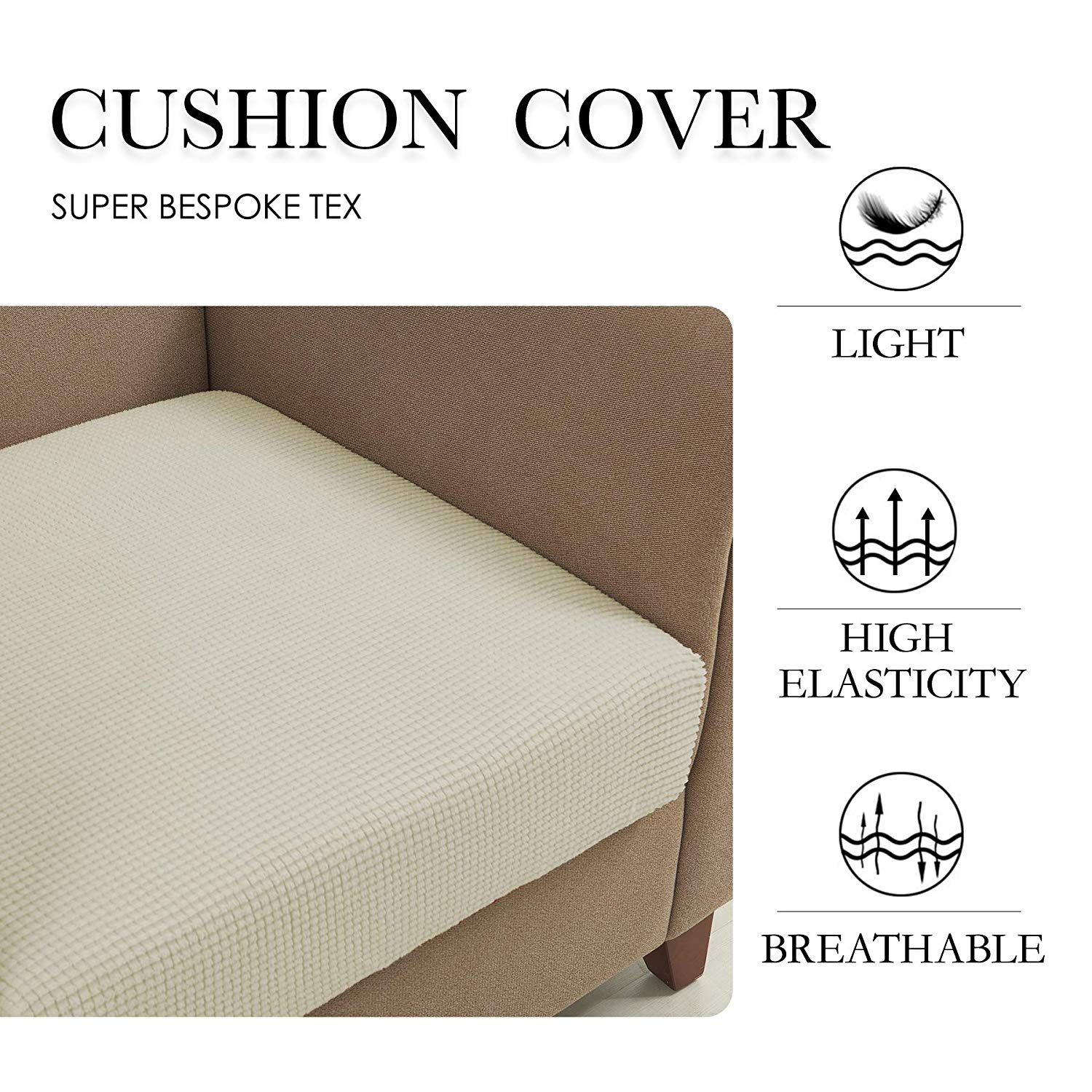 Superb Subrtex Plaid Stretch Sofa Cushion Cover Furniture Protector For Sofa Seat Cushion Dailytribune Chair Design For Home Dailytribuneorg