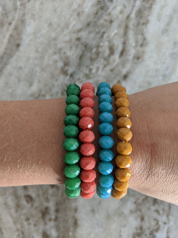 Colorful Carrie Bracelet Stack