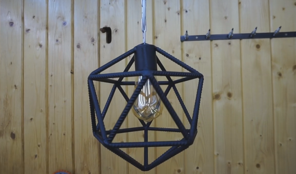 how to make a beautiful lamp holder ?
