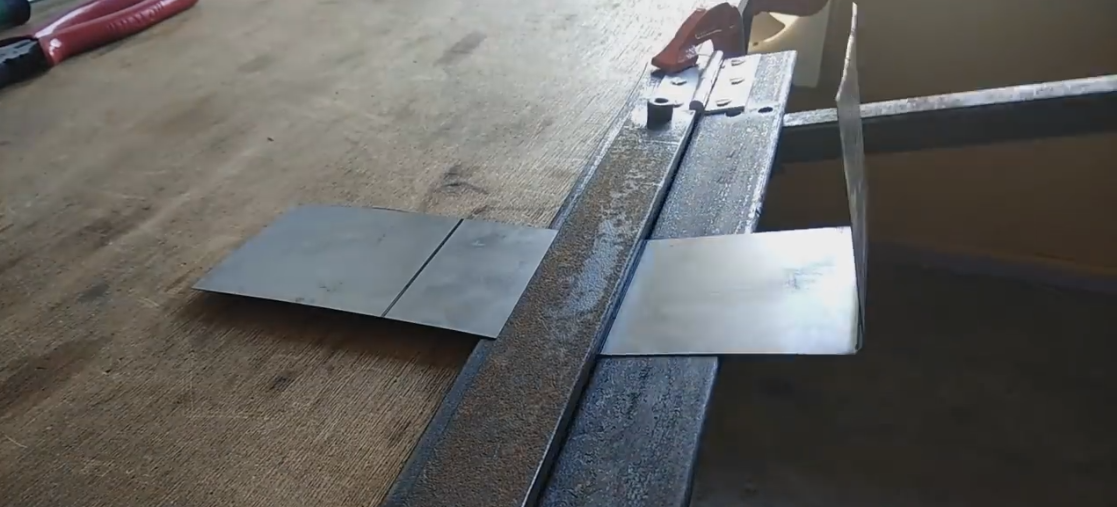 DIY Sheet Metal Bending Tool - Sheet Metal Brake