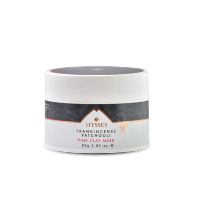 Pink Clay Mask Frankincense Patchouli