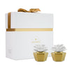 Elegance Gold Clay Diffuser Set of 2