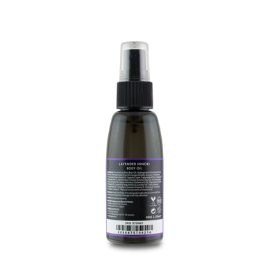 Body Oil Lavender Hinoki