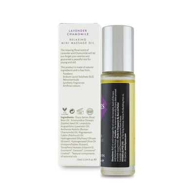 Lavender Chamomile Mini Massage Oil
