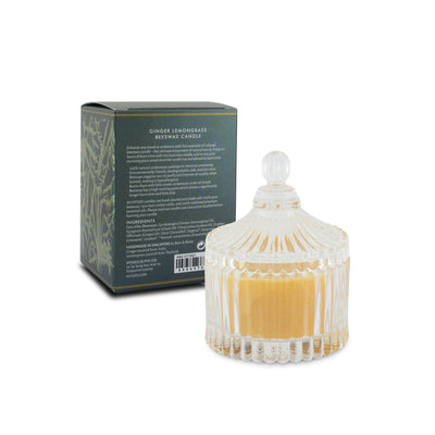 Beeswax Candle Ginger Lemongrass