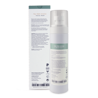 Tea Tree Hinoki Facial Wash