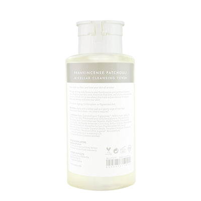 Frankincense Patchouli Micellar Cleansing Toner