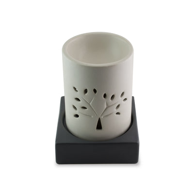 Candle Burner Raintree (Ivory)