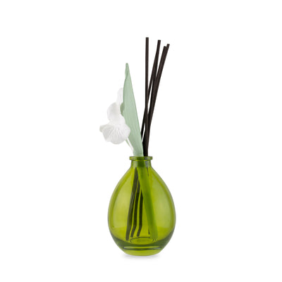 Lily Scenting Clay Reed Diffuser Vase (Lemongrass)