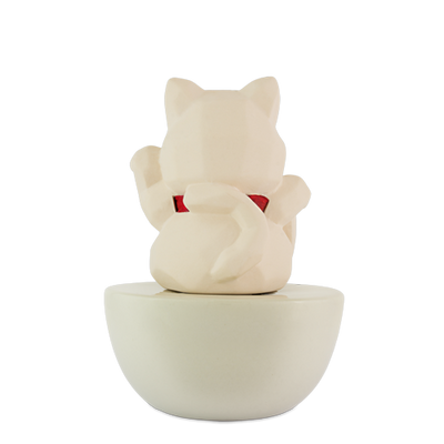 Fortune Cat Clay Diffuser