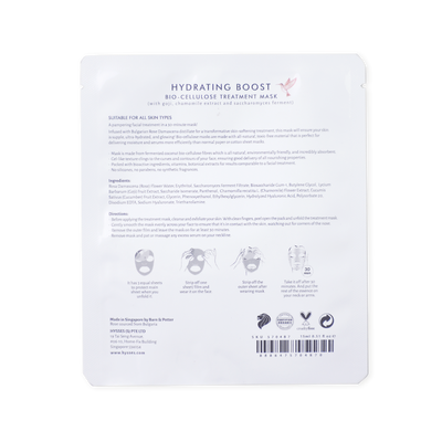 Bio Cellulose Hydrating Mask Rose