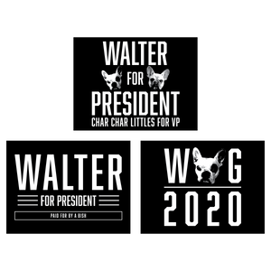 WALTER/2020 STICKERS