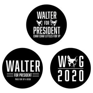 WALTER/2020 BUTTONS