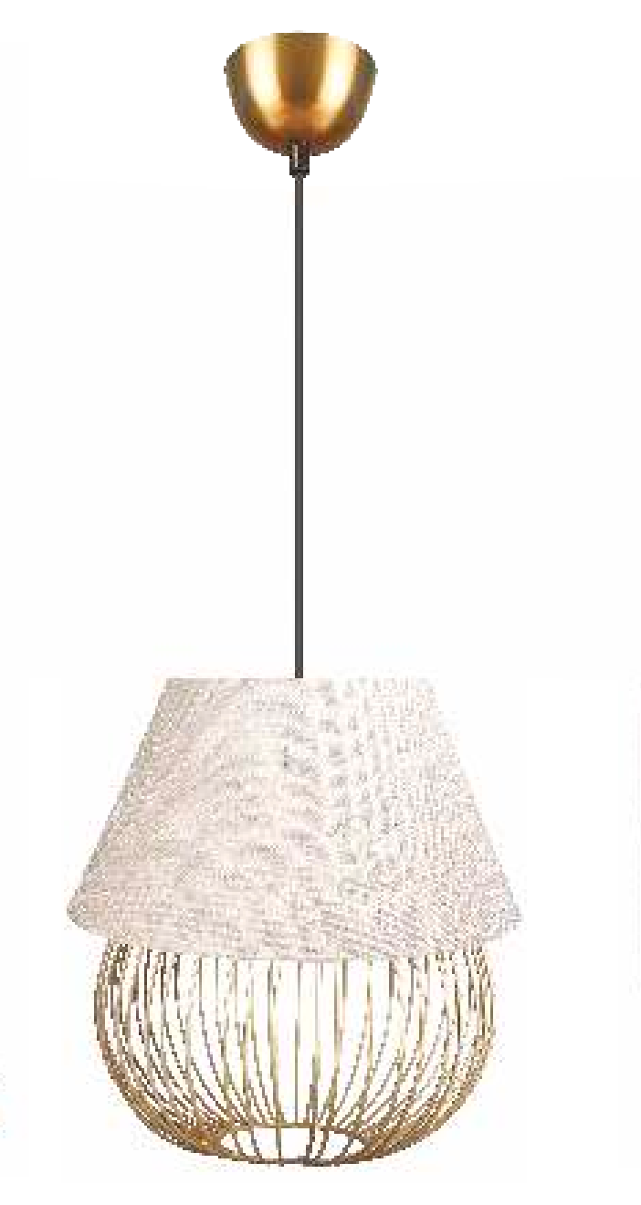 Philips The Muziris Conical Fabric Pendant