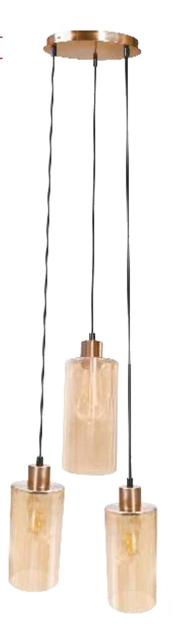 Philips The Muziris Cylindrical Pendant (Gold)