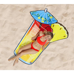 Cocktail Beach Blanket