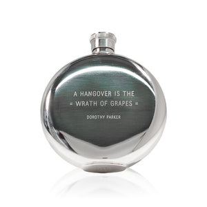 "Izola ""Wrath of Grapes"" Flask"