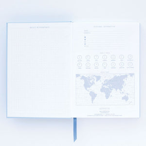 Embrace the Day Hardcover Notebook